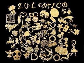1e628017a9e3 Dijes De Pewter Dorado Para Bisutería Lote Con 100gr