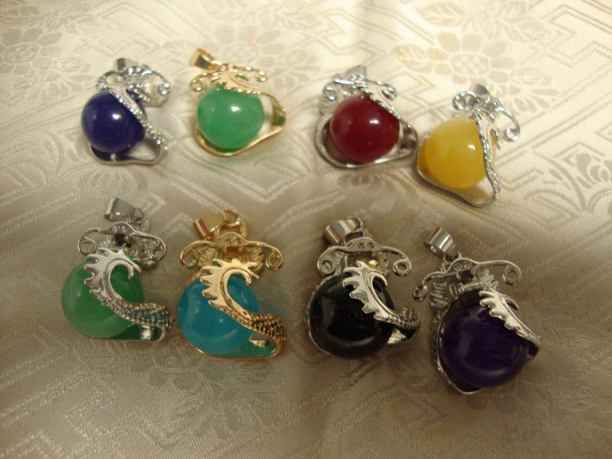 bb9b3dade260 Dijes En Jade De Colores, Dragon Perla.
