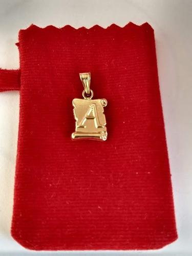 dijes letras inicial   a   oro/joya lindo regalo , calidad