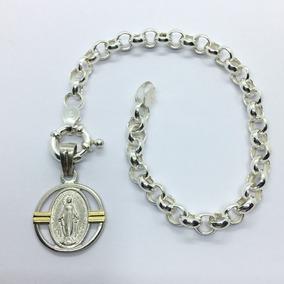 4dd5b48e50d Medalla Milagrosa Oro Y Plata - Joyas y Bijouterie en Mercado Libre ...