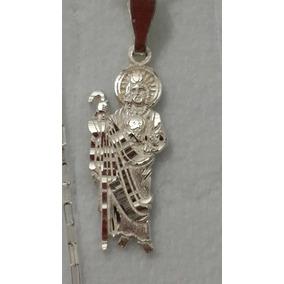 d39d626de54 Dije San Judas Tadeo Oro Y Plata - Dijes y Medallas Sin Piedras en Mercado  Libre México