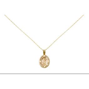 8c5ac5bd1763 Medalla Del Divino Niño Dios Y Cadena Ambas De 14 Kilates