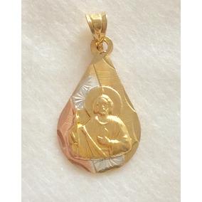 c44b9d3e02d Dije San Judas Tadeo Oro Laminado Sin Piedras - Dijes y Medallas en ...