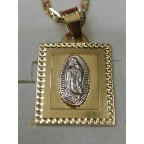 049abcf016ff Medalla De Oro De 14k Virgen De Guadalupe. Envio Gratis