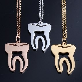dijes muelas  odontologo sin cadena baño oro artistas online