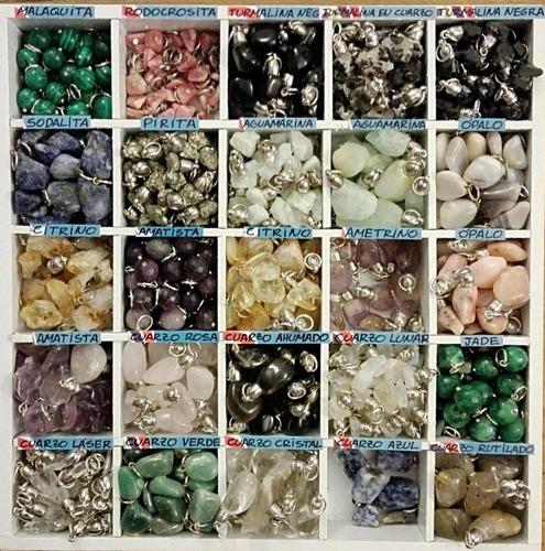 dijes x50 x mayor - minerales y piedras semipreciosas