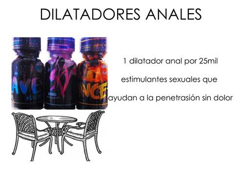 dilatador anal 1unidad popper -  a $2 - kg a $25000
