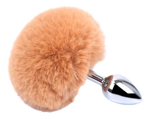 dilatador iniciador plug anal acero cola conejo mujer hombre