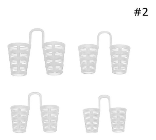 dilatador nasal 4 unidades tamanhos diferentes + 5 brindes