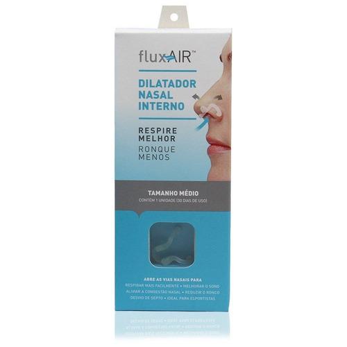 dilatador nasal interno flux air 1 unidade - tamanho médio