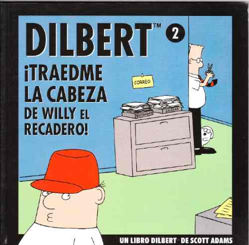 dilbert de scott adams, 3 tomos.