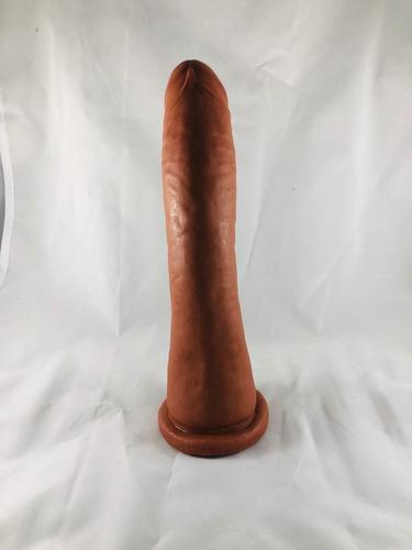 dildo consolador pene 14,17 o 20 cm texturizado + envio grat