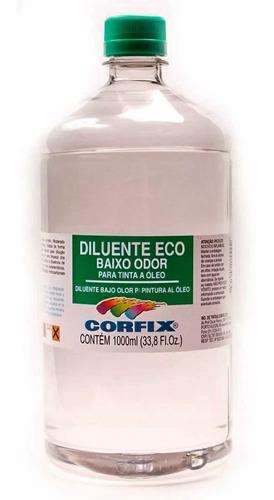 diluente sem cheiro eco baixo odor corfix 1000ml