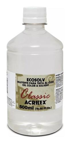 diluente sem cheiro ecosolv classic acrilex 500ml