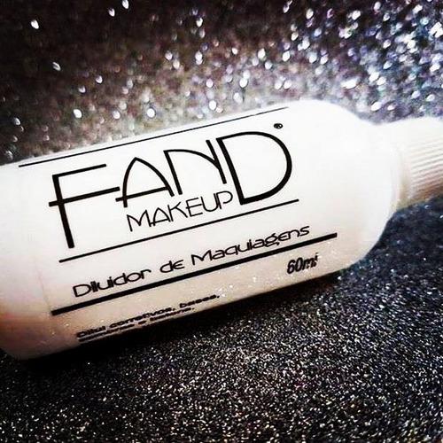 diluidor fand makeup 60ml - similar duraline inglot kryolan