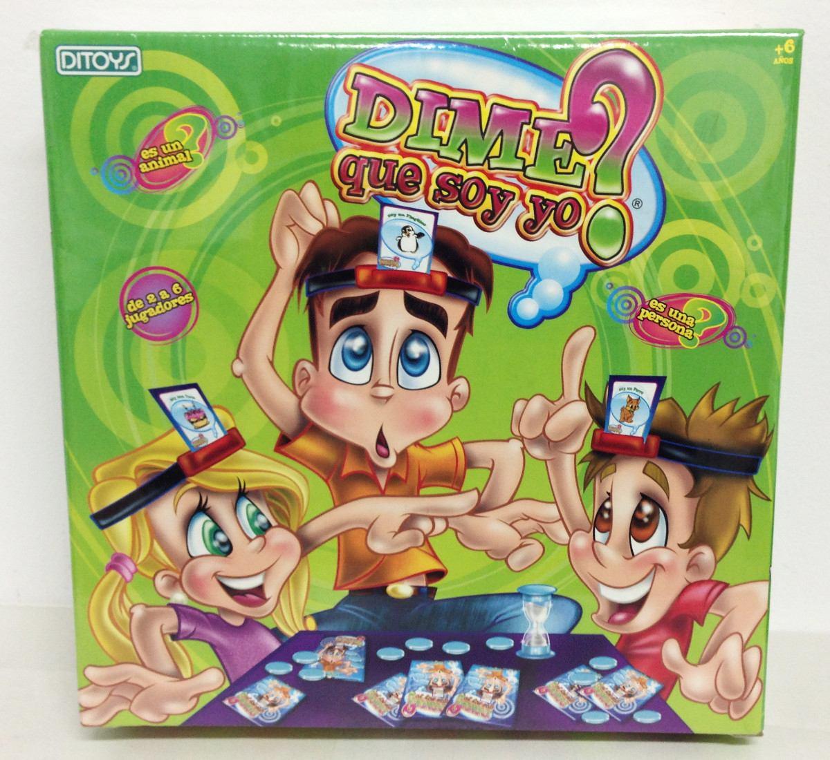 Dime Quien Soy Yo Juego De Mesa Original De Ditoys Tv 699 00 En