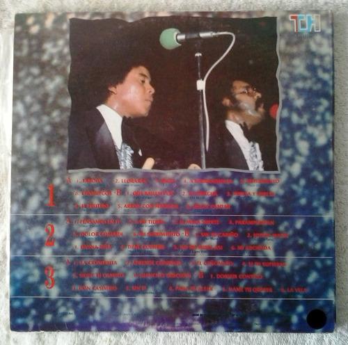 dimensión latina - sus grandes éxitos 3 discos de vinilo lp