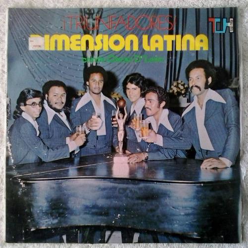 dimensión latina - triunfadores disco de vinilo lp