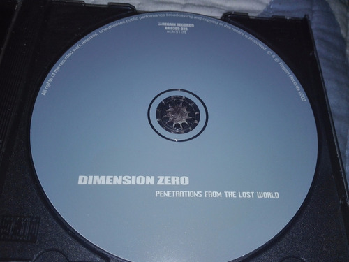 dimension zero - penetrations from the lost world(in flames)