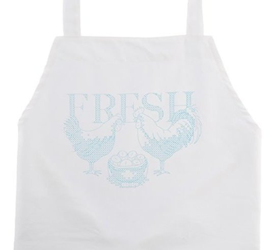 Dimensions 72-73885 Rooster Apron Stamped Cross Stitch