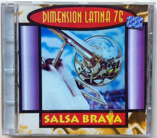 dimesión latina 76. cd original, usado