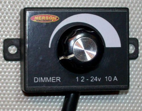 dimmer  12-24 volt