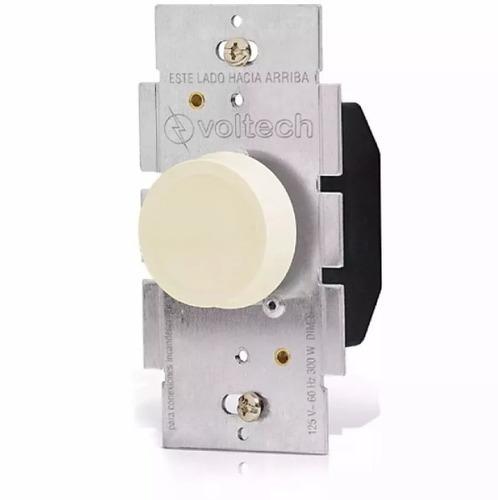dimmer atenuador de luz rotativo, volteck - 46302