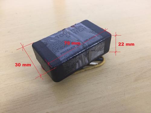 dimmer lampada incandescente 3 nível toque - 110v