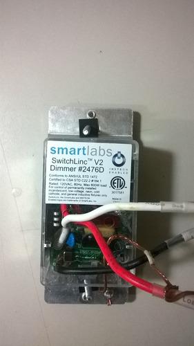 dimmer  smarthome insteon switchlinc v2 dimmer - 2476d