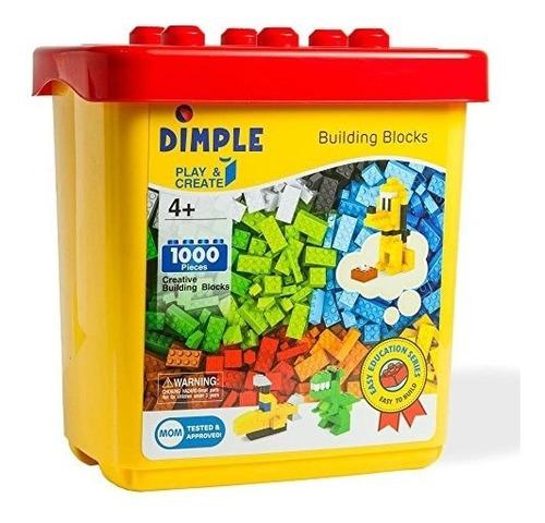 dimple dc13992 cubo con 1000 piezas multi stacking clásico j