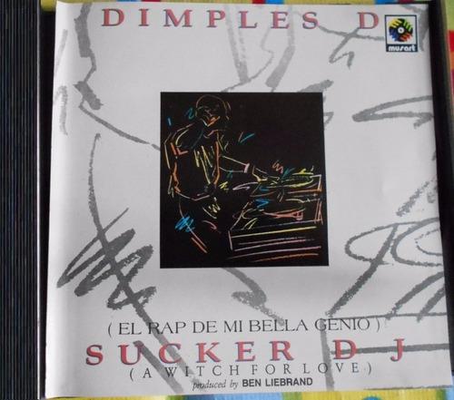 dimples d sucker dj el rap de mi bella genio cd single raro