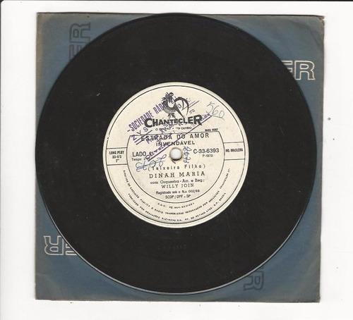 dinah maria - 1970 - estrada do amor - compacto - ep d7