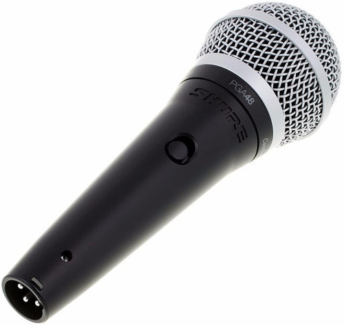 dinamico pie shure microfono