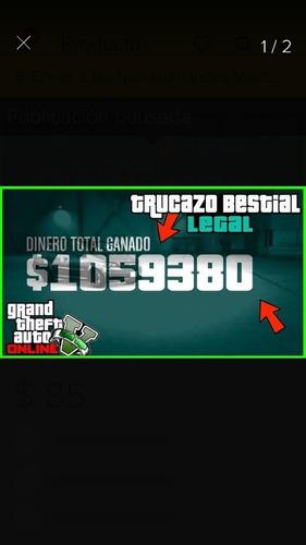 dinero 5 millones de dolares gta 5 online