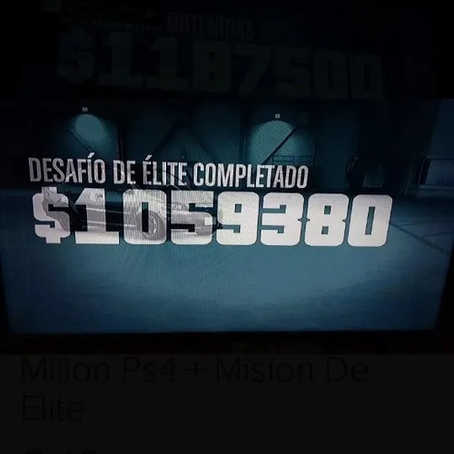 dinero gta 5 online ps4 un millon+ desafios de elite