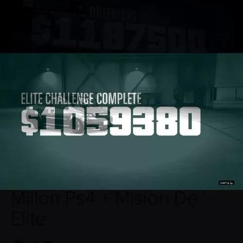 dinero gta 5 online ps4 un millon+ mision de elite