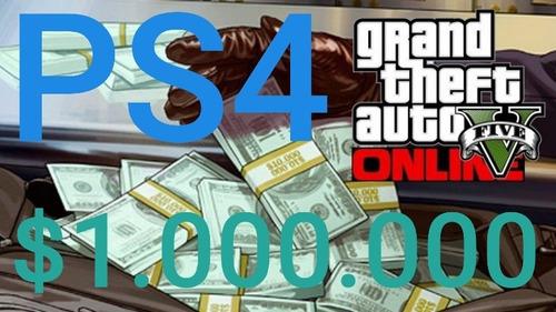 dinero gta $6.000.000 ps4