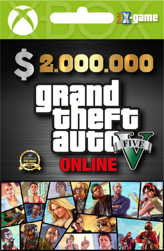 dinero gta online  xbox one $2'000.000 las 24 hrs