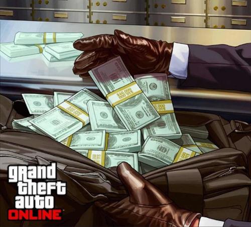 dinero gta v online para xbox one  1 millón de dólares