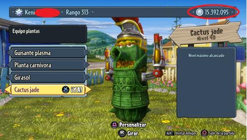 dinero plantas vs zombies 200 millones solo ps3 bo1 y bo2