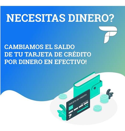 dinero/efectivo con tarjeta de credito 936594897 cash rápido