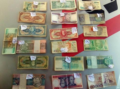 dinheiro antigo notas antigas cédulas coleção colecionadores