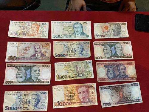 dinheiro cruzeiros e cruzados