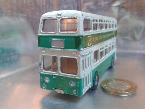 dinky toys - atlantean bus de 1963 m.i. england