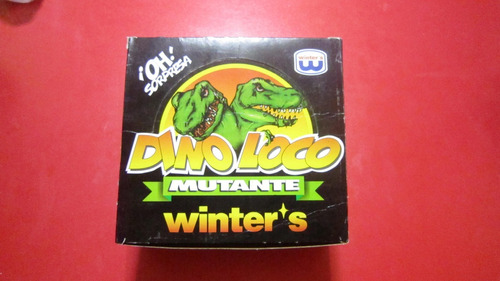 dino loco mutante, winter's - caja original 1999
