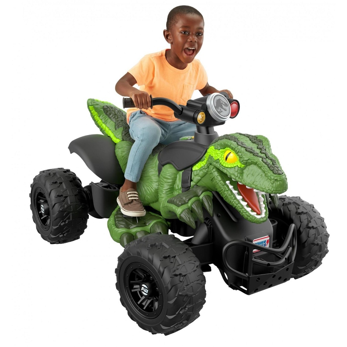 Dino Racer Power Wheels Jurassic World Raptor Cuatrimoto