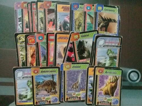 dinorey cartas coleccionables