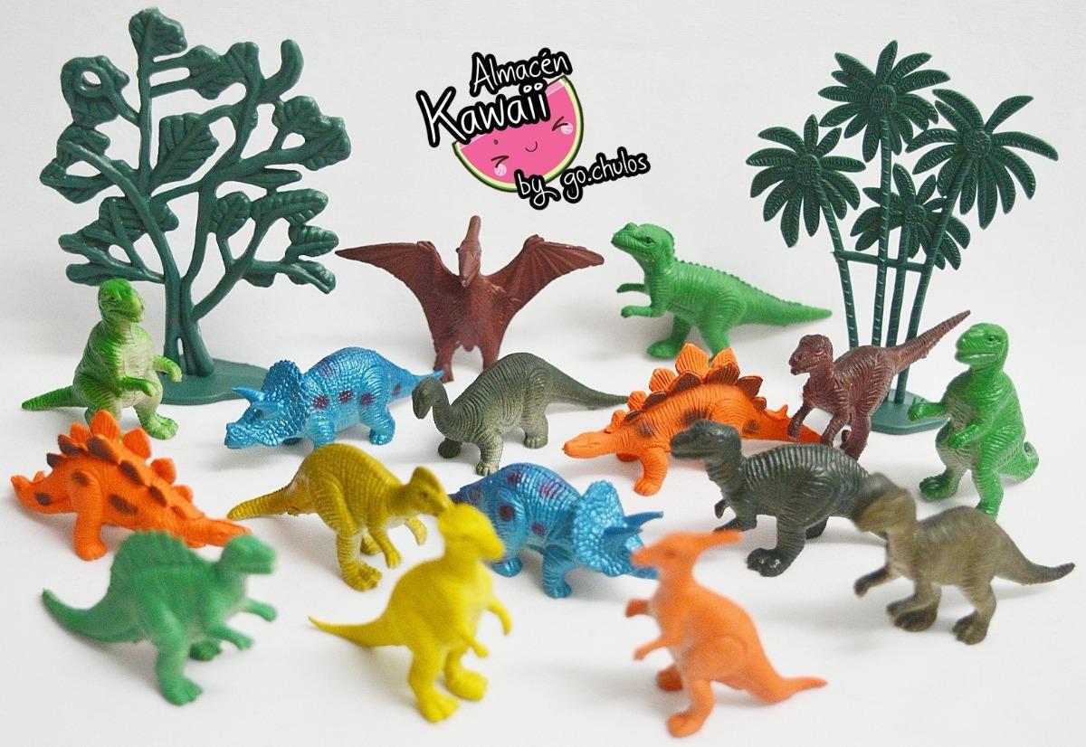 Dinos Munecos Dinosaurios Decoracion Tortas Juegos Kawaii 99 00