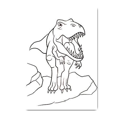 Dinosaur Coloring Book Super Set Niños Toddler 2 Libros Y M ...