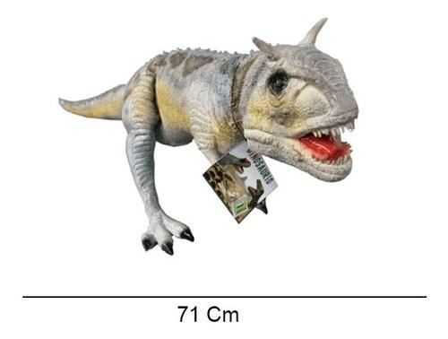 dinosaurio carnotauro latex 71 cm tiovivo ln-2200